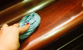 How to fix scratched furniture