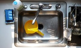 How to get rid of bad smell coming from the kitchen sink?
