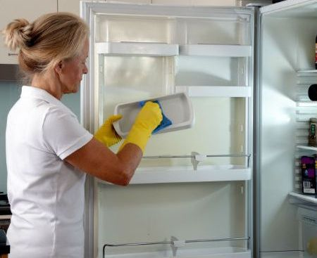 How To Deal With A Smelly Fridge Ncleaningtips Com