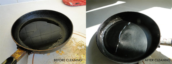 How to clean Teflon pans properly
