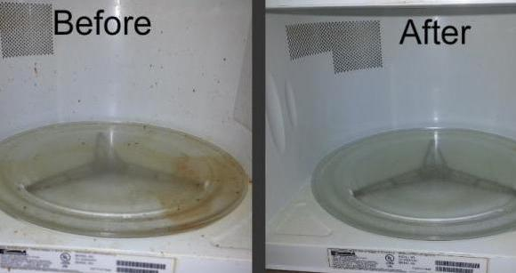 Natural and easy solutions to clean your microwave oven