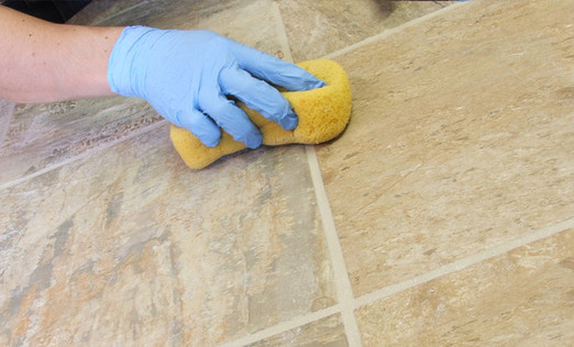 How to clean tile grout easily (Homemade recipe)