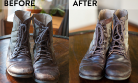 How To Remove Salt Stains From Leather Boots With Onions
