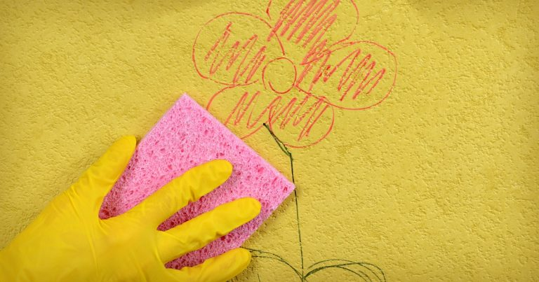 How To Remove Pencil Marks From Walls With Mayonnaise And Other Natural Solutions