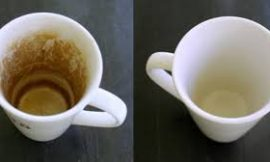 How To Get Rid Of That Stubborn Coffee Stains From Cups And Mugs With Vinegar And Other Natural Solutions