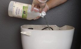 How To Use Vinegar To Clean And Disinfect The Toilet Bowl Without Chemicals
