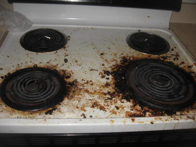 How To Easily Clean Burnt Grease From Stove Top Without Chemicals