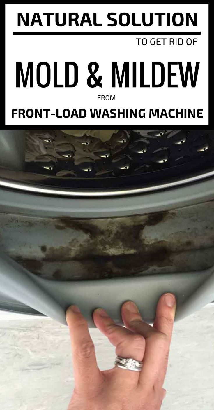 Natural solution to get rid of mold and mildew from front load washing machine for How to get rid of surface mold in bathroom