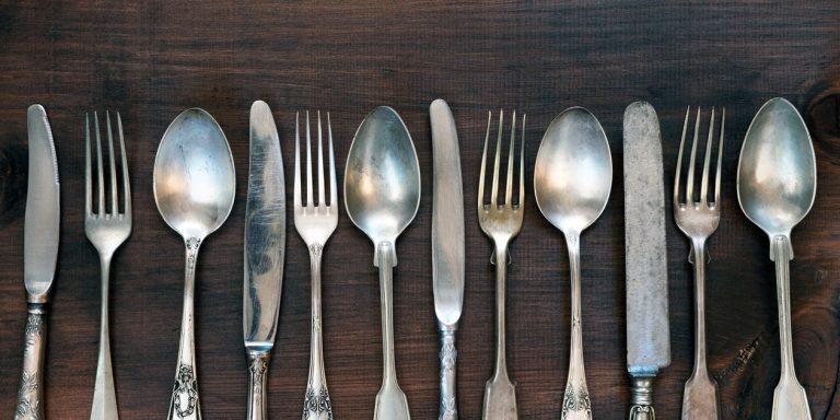 How To Make Silverware Look Shiny As New Using Baking Soda And Salt