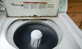 Stop Staining Your Laundry! How To Remove Rust Inside Of A Washing Machine