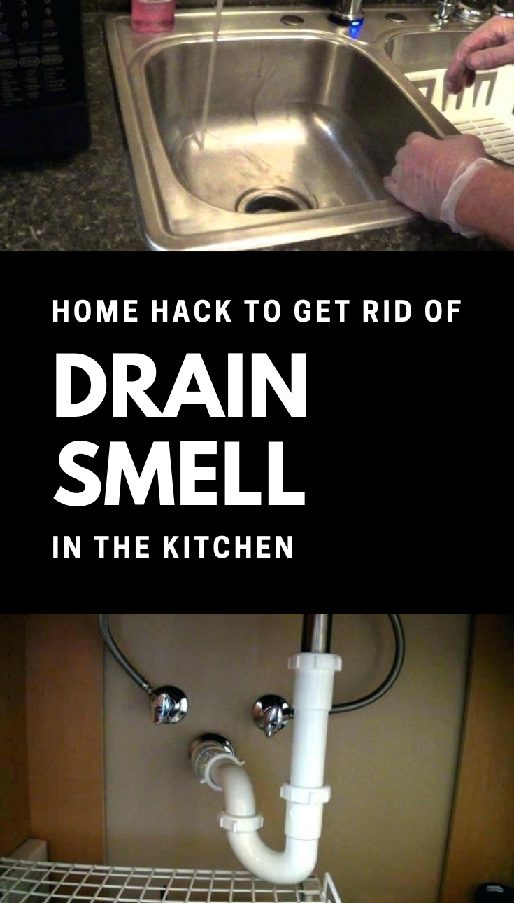 Home Hack To Get Rid Of Drain Smell In